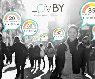 LovBy: la piattaforma di influence marketing che premia l'attività social degli utenti
