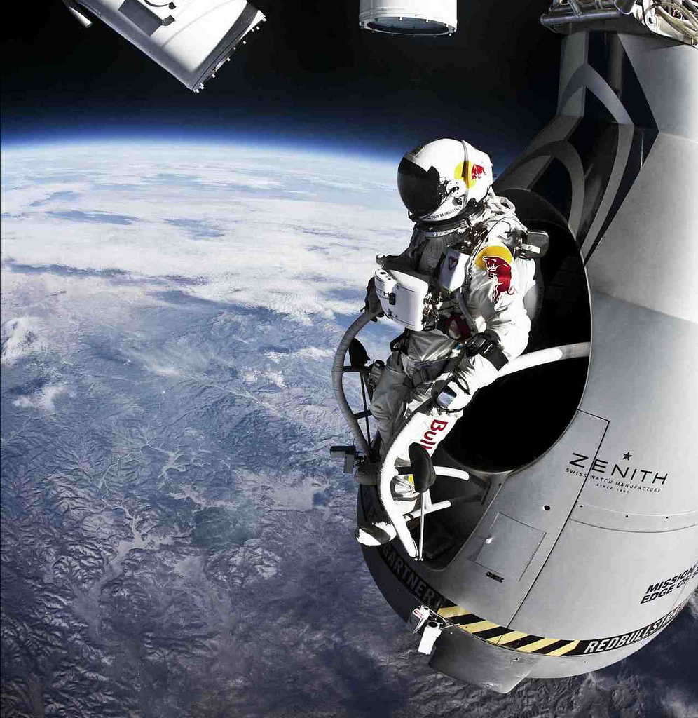 Red Bull Stratos Campaign